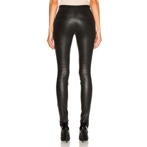 Authentic helmut lang leather leggings